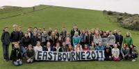 Kreidefelsenwanderung bei Eastbourne