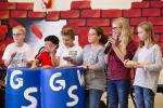 Schüler der Klasse 5 beim Rhythmical.
